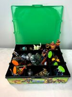 Mixed Lot of 33 Skylander Action Figures Swap Force,Giants with Storage Case