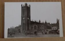 Postcard Manchester Cathedral Local publisher unposted