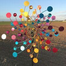 Éolienne décorative de jardin sculpture à Vent de Jardin ø50 cm -Neuf