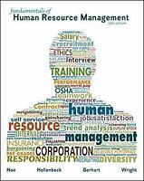Fundamentals of Human Resource Management Paperback Barry A. Gerhart