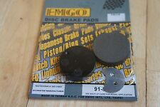 EMGO brake  PADS for SUZUKI GT125 1975-1978 GT185 1976-1977 GT250 HUSTLER 1973-