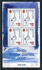Groenlandia 2001 BF 20 Giochi invernali dell'Artico MNH