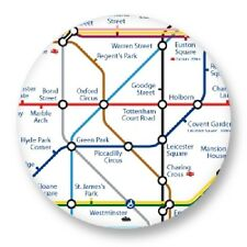 Button pin badge ø38mm london underground metro urban transport