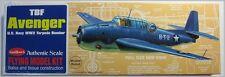 Guillows 509 Avenger Torpedo Bomber Wooden Flying Model Kit