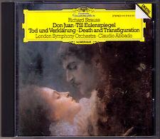 Claudio ABBADO Richard STRAUSS Don Juan Till Eulenspiegels Tod und Verklärung CD