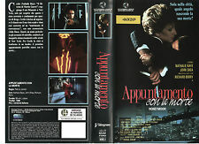 APPUNTAMENTO CON LA MORTE (1988) VHS
