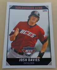 Josh Davies 2018/19 Australian Baseball League card - Melbourne Aces