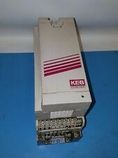 KEB COMBIVERT KEB 07.F5.B1B-3900 1,8KVA 0,75kW 3PH 440/480V INVERTER DRIVE
