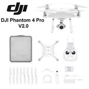 DJI Phantom 4 Pro V2.0 Quadcopter Drone 4K HD Video Camera White AU Warranty DJI