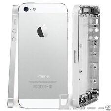 Completamente Nuevo IPHONE 5 De Repuesto Espalda Cubierta trasera Batería Cubierta Blanco Plata