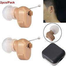 1Pair Digital Hearing Aid K-188 In The Ear Voice Sound Amplifier Adjustable Tone