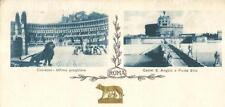 lz 62 Anni 20 ROMA 5 cartoline formato 14x7 non viagg FP Ed.Alterocca Terni