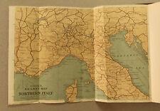 XIX Sec.Originale Mappa Geo-Topografica= Italia del NORD= Sardegna.Sicilia..ETNA