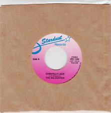 "BIG BOPPER - CHANTILLY LACE / THE BIG BOPPER'S WEDDING  ""JUKEBOX 45  UNPLAYED"