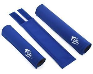 FLITE old school BMX foam padset pads - USA MADE!! - BLUE