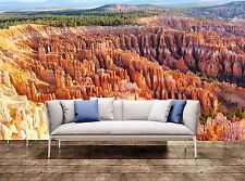 Wall Murals Wallpaper Bryce Canyon 3D Poster Print Tapestry Photo Decor