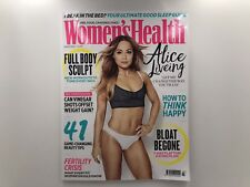 Women's Health UK Magazine March 2018 Issue 52 - Alice Liveing - NEW