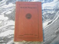Old Vintage or Antique 1928 BOILER PRACTICE American School Chicago Newell Book
