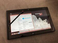 "Lenovo ThinkPad Tablet 2 2gb RAM 64gb SSD 10.1"" Atom z2760 Windows 8"