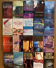 Lot of (20) Romantic Suspense Books Romance Novels Paperback P/B FREE SHIPPING!!