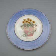 Wedgwood England Sarah's Garden Blue Salad Plates - Set of Four