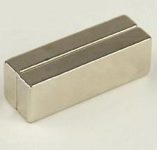 2pcs Large NdFeB Lot Super Magnet Bar Neodymium N50 Magnets 60mm x 20mm x 10mm