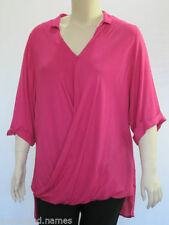 Autograph Viscose 3/4 Sleeve Plus Size Tops & Blouses for Women