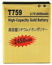 Battery for Samsung Galaxy W i8150, Samsung Wave 3 S8600, S5820 Gold Replacement