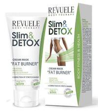 Revuele Slim & Detox Fat Burner Cream Weight Loss Anti Cellulite Mask Moisturise
