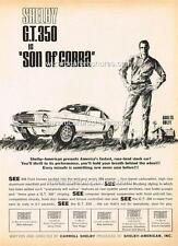 1966 FORD SHELBY GT 350 MUSTANG A3 POSTER AD SALES BROCHURE ADVERTISEMENT ADVERT