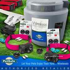 Petsafe PIF-300 Instant Wireless Fence System PIF-275 Collar RFA-67, 2 Dogs Pink