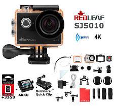 Redleaf 4K Full HD WiFi SJ5010 Auslöser Action Sport Kamera Cam Waterproof 32GB