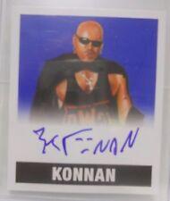2017 Leaf Originals Wrestling Konnan SP Blue Autograph # 2 / 25