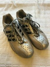 Adidas  Running Spikes Size  UK5.5 VGC used silver / black
