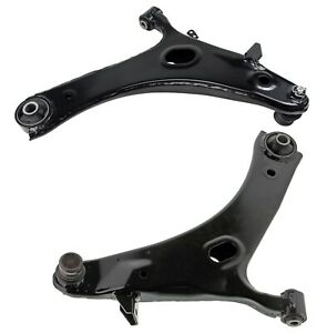 Pair Set 2 Front Lower Control Arms & Ball Joints Mevotech For Impreza Forester