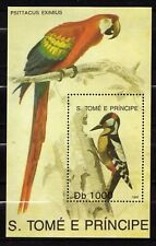 Sao Tomé and Principe : Birds ( Psittacus Eximus ) 1992 MNH