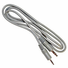 HQRP 2.5mm to 3.5mm Audio Cable for Sennheiser MM400-x MM450-x MM550-x PXC-550