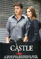 Castle Seasons 3 & 4 Base Card Set 72 Cards Cryptozoic 2014