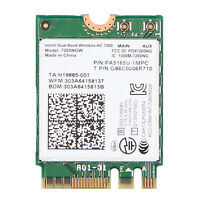 Intel Dual Band Wireless-AC 7260 7260NGW Bluetooth BT 4.0 NGFF 867Mbps Wifi Card