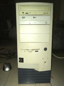 Retro computer - Pentium 4 2.2GHz, 768MB RAM, 80GB HDD, 6600GT, TV tuner.