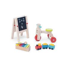 """Le Toy Van ME082 """"Play Time"""" Spielzeug-Set 5-tlg. Holz 1:12 für Puppenhaus NEU #"""