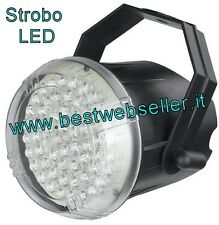 Effetto Luce LED Strobo DJ Discoteca 62 Led 10 mm
