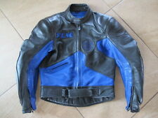 Robuste Leder-Motorradjacke von Polo FLM für Herren mit Größe S/48
