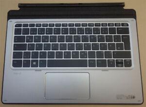 Docking Station Tastatur HP Elite X2 1012 G1 Tablet PC Backlight keyboard QWERTZ