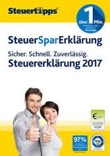 SteuerSparErklärung 2018 für Steuerjahr 2017 ESD Download Windows