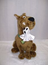 "Scooby Doo Stuffed Plush Doll Toy 10"" Dog Cartoon Network 17"" SD Tag With GHOST"