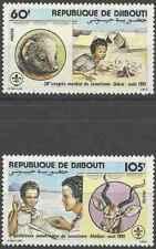 Timbres Scoutisme Animaux Djibouti 539/42 ** lot 25894