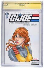 G.I. Joe: A Real American Hero CGC Graded 9.8 Steve Lydic Sketch Jeff Edwards