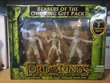 Toy Biz il signore degli anelli portatori dell'Unico Anello Regalo Confezione Frodo Bilbo Gollum