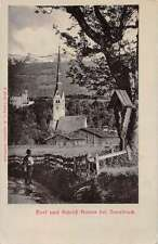 Innsbruck Austria Church Antique Postcard J41298